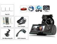 Dual Camera Car Blackbox DVR With GPS Logger And G-Sensor in General items Gauteng Vereeniging - South Africa