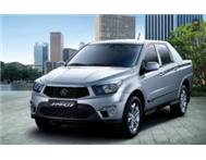 2013 Ssangyong Actyon Sport - brand new from R289 995