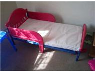 cars Toddler bed - red
