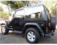 Jeep Wrangler Sahara 4.0 i Manual