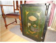 Antique fire resistant safe