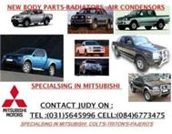 SPECIALISING IN MITSUBISHI NEW BODY PARTS-RADIATORS------