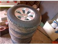 Ford Ranger 2008 rims and tyres x 6