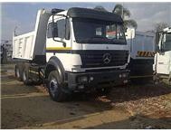 1997 MERCEDES-BENZ 2545SC FITTED WITH 10M MILLER BIN. ONE OWNER FROM NEW.