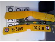 RC plane Radio Control airplane model aeroplane Q/S Tiger Moth