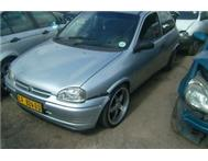 2001 OPEL CORSA LITE 1600 5 SPD STRIPPING FOR SPARES