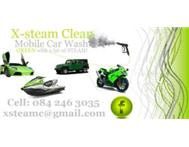 X-steam clean mobile car wash (We come to your destination)