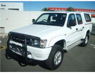 2001 Toyota Hilux 3.0 4x2 manual with only 250000km