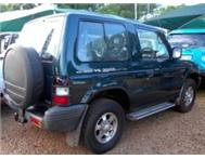 MITSUBISHI PAJERO STRIPPING FOR SPARES!!!!!