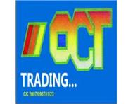 OCT TRADING Oct used spares for ope... Kwazulu-natal