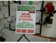 LAWNMOWER SHOP FOR SALE