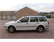 VW 1.9 TDi Golf 4 Estate - Great fuel saver