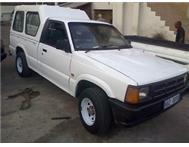 FORD COURIER BAKKIE WITH CANOPY 1996 MODEL 1800 5 SPEED NEAT