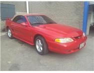 Ford Mustang 1994 Model Cobra 5L V8 Manual Box