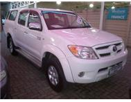 2007 TOYOTA HILUX RAIDER 2.7VVTi D/C. EXCELLENT! VERY LOW KM.