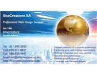 SiteCreations SA Web Site Designers in Computers & Internet Gauteng Kempton Park - South Africa