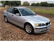 2003 BMW 318i A/C P/S E/W LEATHER SEATS MAGS 5 SPEED FUEL SAVER