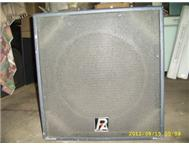 P Audio 18 inch bass bins x 2 Vereeniging-kopanong