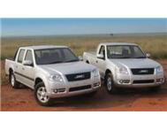 Brand new JMC bakkies for sale!