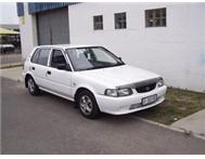 2001 TOYOTA TAZZ 130 (VERY LIGHT ON FUEL)