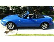 COLLECTORS!! MAZDA MX5 MIATA!! HARD TOP INCLUDED!!