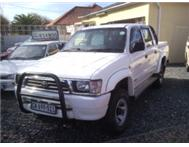 TOYOTA HILUX 2.7i RAIDER DOUBLE CAB RAISED BODY 2001 CANOPY