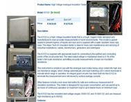 HIGH VOLTAGE ANALOGUE INSULATION TESTER