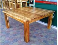 BRAND NEW BLACKWOOD DINING TABLE