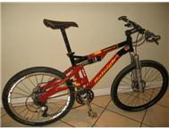 Raleigh RDS 7 Dual Suspension Elite Mountain Bike