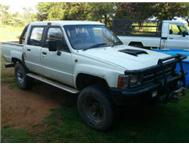 Hilux 4x4 with new toyota lexus eng...