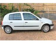Renault Clio 1.4 Alize ( price neg. for cash )