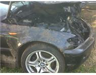 BMW 320D E46 FACELIFT ACCIDENT DAMAGED
