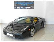 2007 LAMBORGHINI GALLARDO COUPE E.GEAR. GLASS BACK. ONLY 1649000