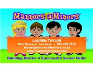 Manners4Minors Education in Business for Sale Gauteng Randburg - South Africa