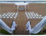 Beach and garden Wedding