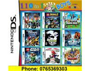 110 in 1 Nintendo DS/3DS Multi Game Card for BOYS