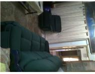Lounge suite Green 3 2 1 seater (3 manual recliners)