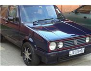 VW Golf 1model 5 speed