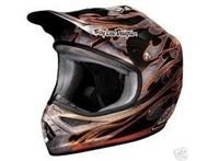 Troy Lee Designs helmet and kit