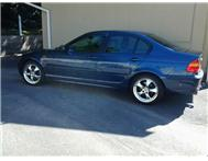 Blue BMW 318i Sport pack E46 Facelift R60 000 NEGOTIABLE!!!!!