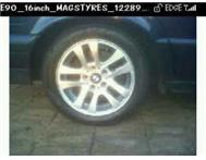 BARGAIN!!!! Bmw rims & tyres R2000