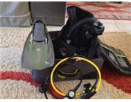 Scuba Diving Gear Kit: Auqualung