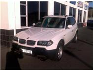 BMW X3 20D WITH 131198 KM ON CLOCK CALL KITSIE ON 0735670026