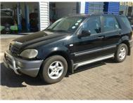 2001 MERCEDES-BENZ M-CLASS ML 320 AUTO 7 SEATER AA TESTED SUNROOF (VISIT US @ WWW.HELLOPETER.COM