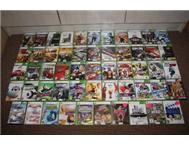 Xbox 360 accessories and games sold...