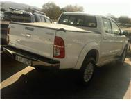 Toyota hilux raider 3.0 D4-d 2011 model Bank repo