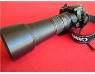 170-500mm Sigma Lens. Canon Mount. Excellent Condition.