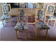 7 Piece Pine Dining Room Set