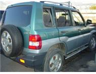 Mitsubishi Pajero GDI stripping for spares