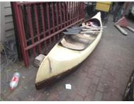 Indian Canoe - 3 man - R800.00
